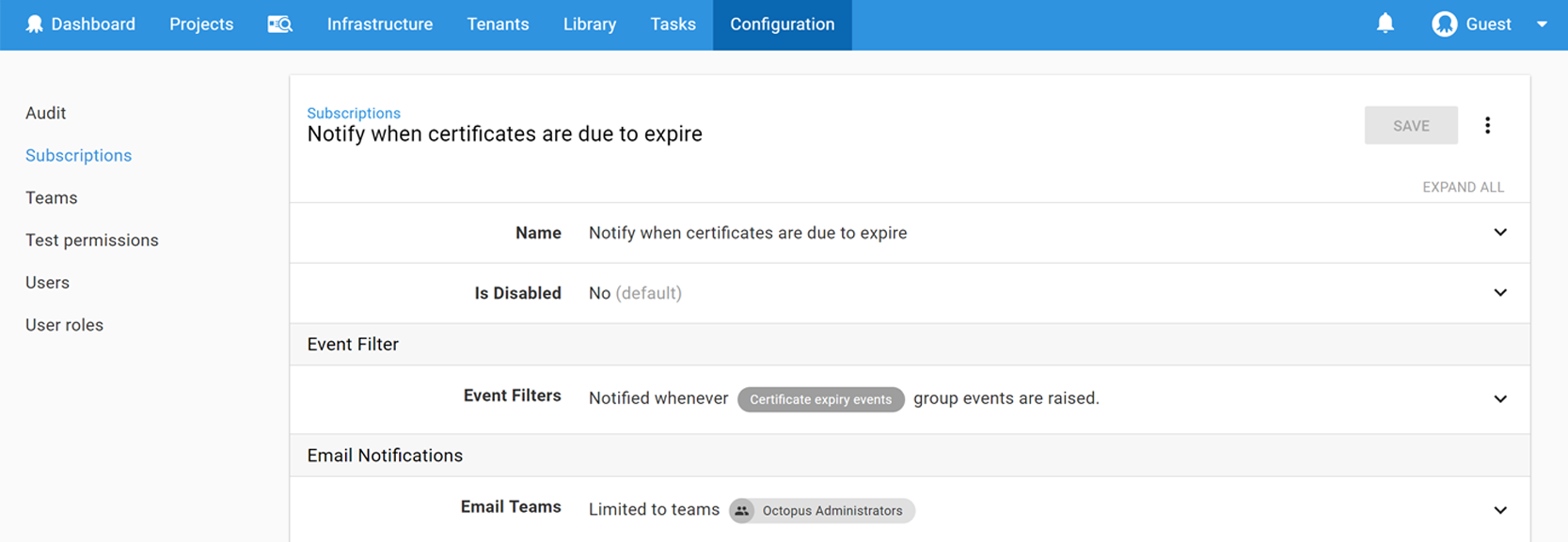 Deploy X509 Certificates Octopus Deploy